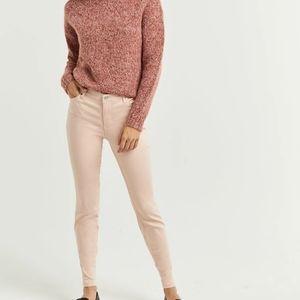 Reitmans Sculpting Skinny Jeans Pink Peach Jegging